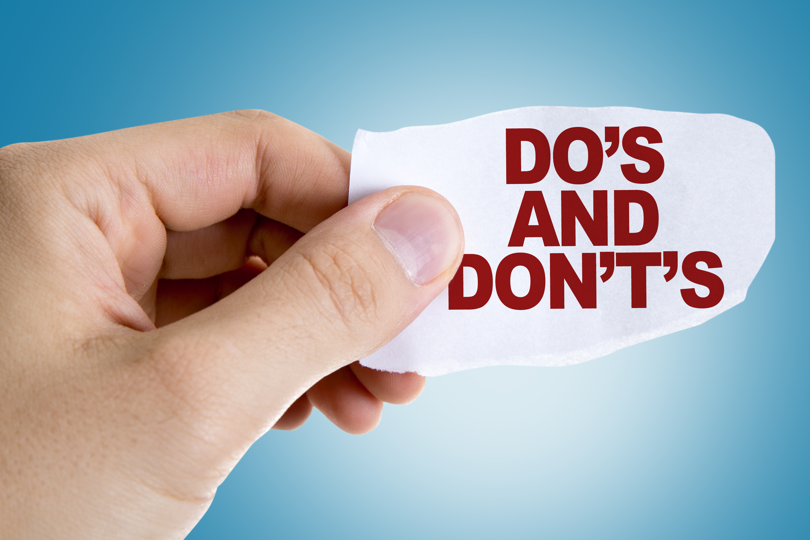 Do's and Don'ts in Real Estate by Flat fee broker Phoenix